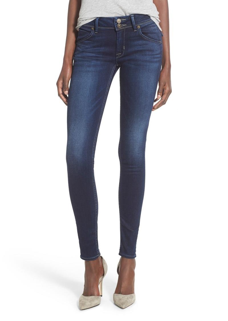 Hudson Jeans 'Elysian - Collin' Mid Rise Skinny Jeans (Crest Falls)