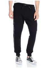 Hudson Jeans en's Trace Sweatpant Black (with Taping)