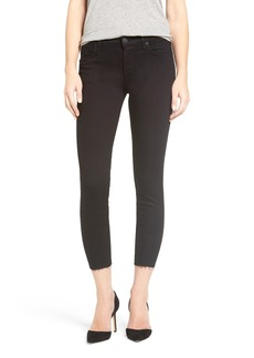 Hudson Jeans 'Fallon' High Rise Raw Hem Crop Skinny Jeans (Altair)