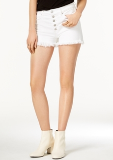 Hudson Jeans Zoeey High Rise Button-Fly Shorts