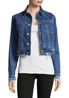 Hudson Jeans Garrison Cropped Denim Jacket