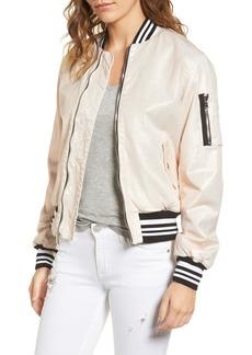 Hudson Jeans Gene Puffy Bomber Jacket