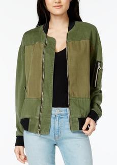 Hudson Jeans Gene Utility Bomber Jacket