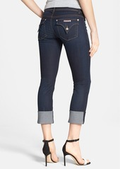 Hudson Jeans 'Ginny' Crop Stretch Jeans (Forsythia)