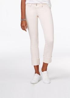 Hudson Jeans Ginny Cuffed Skinny Jeans