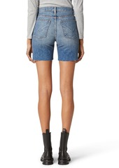 Hudson Jeans Hana High Waist Cutoff Denim Bike Shorts