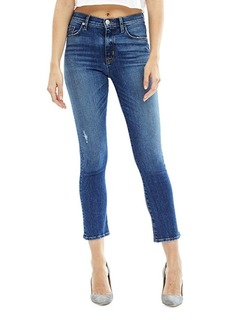 Hudson Jeans Harper High-Rise Baby Cropped Flared Jeans