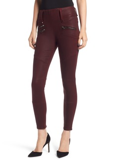 Hudson Jeans High Waist Coated Skinny Jeans