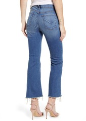 Hudson Jeans Holly Barefoot Crop Flare Jeans (Before Dawn)