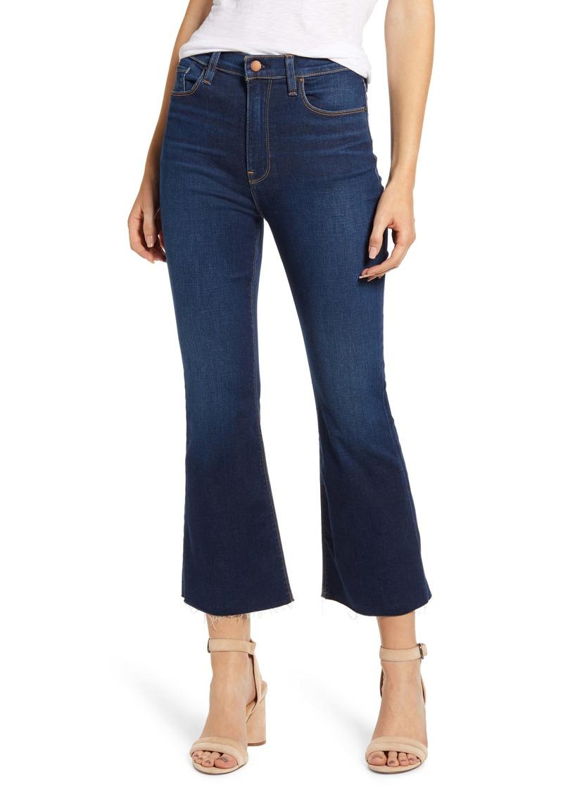 Hudson Jeans Holly Barefoot Flare Jeans (Skeptical)