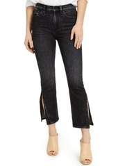 Hudson Jeans Holly Cropped Side-Slit Colored Jeans