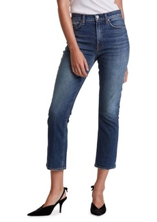 Hudson Jeans Holly High Rise Cropped Bootcut Jeans