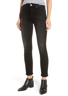 Hudson Jeans Holly High Waist Ankle Skinny Jeans (Abandon)