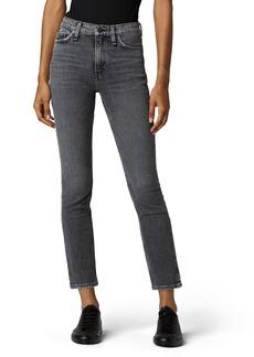 Hudson Jeans Holly High Waist Ankle Straight Leg Jeans (Mercenary)