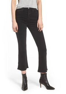 Hudson Jeans Holly High Waist Crop Flare Jeans (Ambiance)