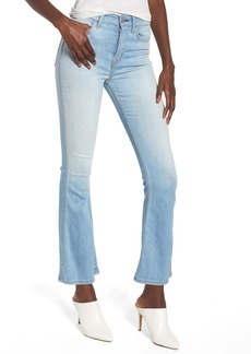 Hudson Jeans Holly High Waist Crop Flare Jeans (Closer)