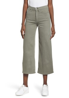 Hudson Jeans Holly High Waist Crop Flare Jeans (Desert Sage)