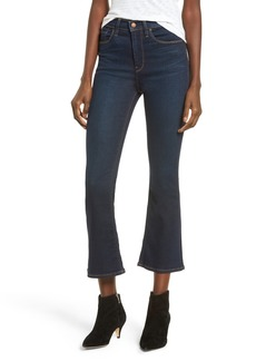 Hudson Jeans Holly High Waist Crop Flare Jeans (Get Free)