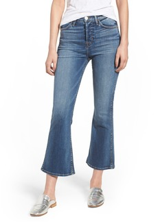 Hudson Jeans Holly High Waist Crop Flare Jeans (Impala)