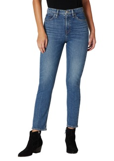Hudson Jeans Holly High Waist Crop Straight Leg Jeans (Right Now)