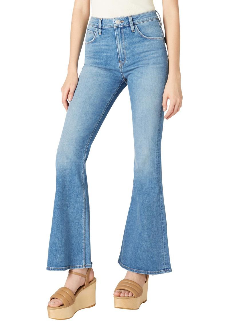 Hudson Jeans Holly High Waist Flap Pocket Flare Leg Jeans (Dream Lover)
