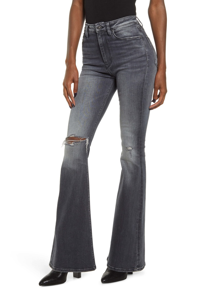 Hudson Jeans Holly High Waist Flare Jeans (Kona)