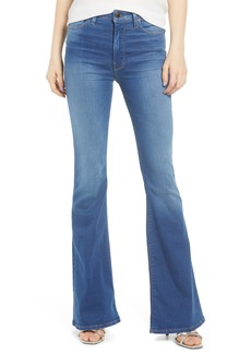 Hudson Jeans Holly High Waist Flare Jeans (Truth or Dare)