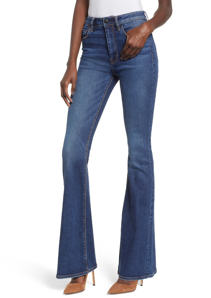 Hudson Jeans Holly High Waist Flare Jeans (Vagabond)