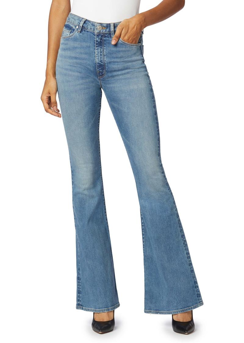 Hudson Jeans Holly High Waist Flare Jeans (Word Play)