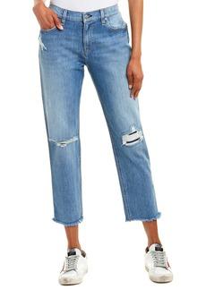 Hudson Jeans Jessi Deep Down Relaxed Boyfriend Crop