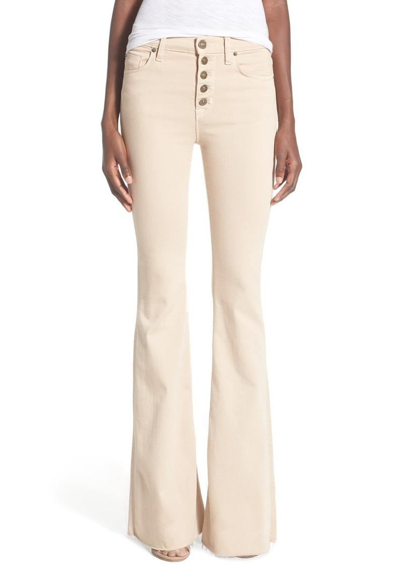 Hudson Jeans Hudson Jeans 'Jodi' Flare Jeans (Parachute Khaki ...