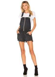 Hudson Jeans Joey Exposed Zip Shortall