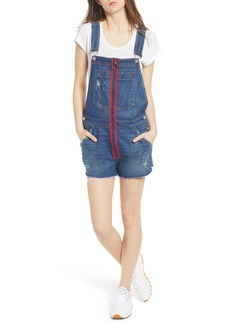 Hudson Jeans Joey Exposed Zip Shortalls