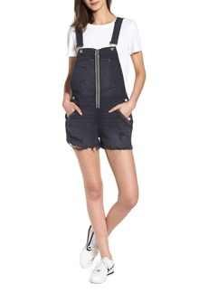 Hudson Jeans Joey Exposed Zip Shortalls