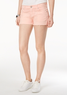 Hudson Jeans Kenzie Cotton Frayed Denim Shorts