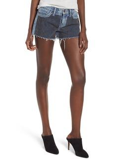 Hudson Jeans Kenzie Studded Cutoff Denim Shorts (Metal Mark)