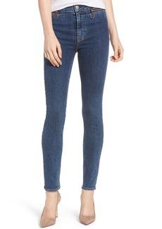 Hudson Jeans Kooper High Waist Skinny Jeans (One Way)