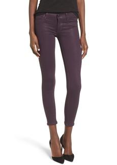 Hudson Jeans 'Krista' Ankle Skinny Jeans (Coated Violet)