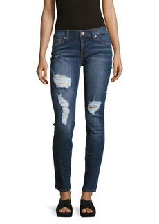 Hudson Jeans Krista Cotton-Blend Five-Pocket Jeans