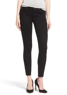 Hudson Jeans 'Krista' Raw Hem Ankle Super Skinny Jeans