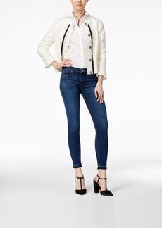 Hudson Jeans Krista Raw-Hem Super Skinny Jeans
