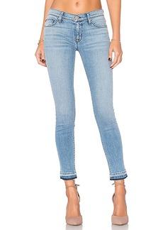 Hudson Jeans Krista Release Hem Skinny in Blue. - size 30 (also in 24,29)