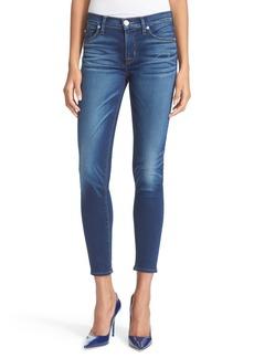 Hudson Jeans Krista Super Skinny Crop Jeans (Fortress)