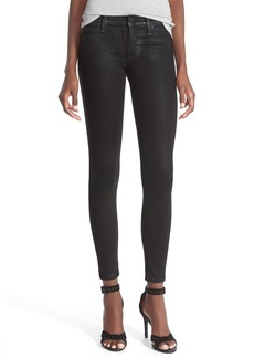Hudson Jeans 'Krista' Super Skinny Jeans (Noir Coated)
