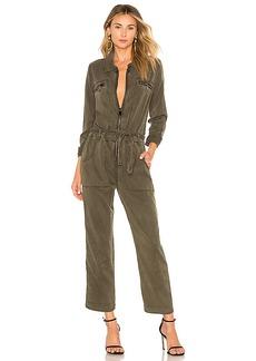 Hudson Jeans Long Sleeve Jumpsuit