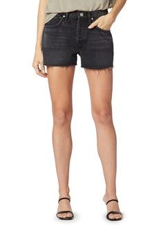 Hudson Jeans Lori High Waist Denim Shorts (Tainted Love)