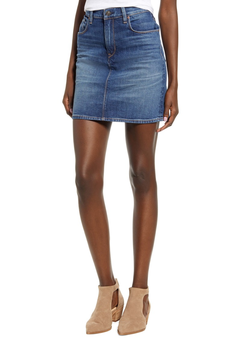Hudson Jeans Lulu Denim Miniskirt