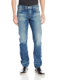 Hudson Jeans Men's Blake Slim Straight + Double Cuff