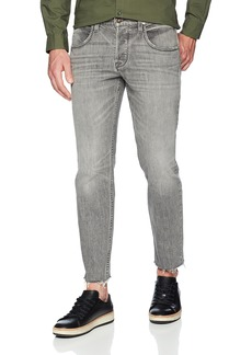 Hudson Jeans Men's Blake Slim Straight Cropped Raw Hem