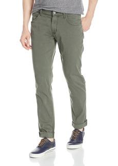 Hudson Jeans Men's Blake Slim Straight Leg + Double Cuff Lightweight Twill Pant